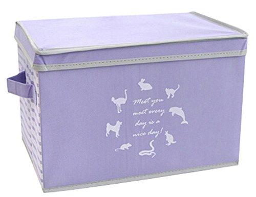 Nonwovens boîte de rangement boîte à gants Boîte à Princess Box-Violet