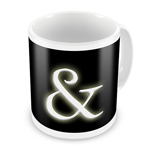 Coffee Mug & Blank Characters, Letter - Neonblond