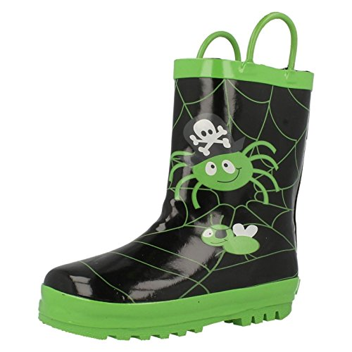 Start-Rite Spider Glow Black Rubber 21.5 EU