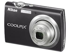 Nikon Coolpix S230 Digitalkamera (10 Megapixel, 3-fach optischer Zoom, 7,6 cm (3 Zoll) Display) schwarz