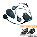 Scala Rider Q2 SOLO Motorcycle Intercom and Bluetooth Handsfreeby Cardo