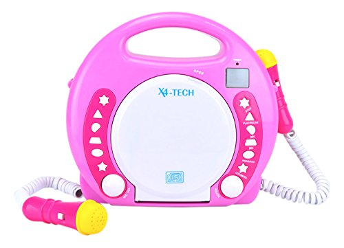 701354 Kinder MP3/CD-Player Bobby Joey pink