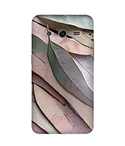 Pastel Leaves Back Cover Case for Samsung Galaxy Core 2