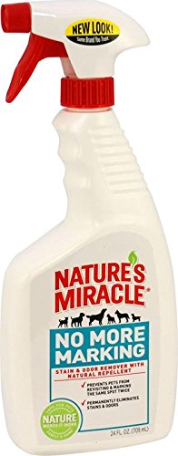 Nature's Miracle No More Marking, 24-Ounce Spray (P-5558) (Dog Pee Cleaner compare prices)