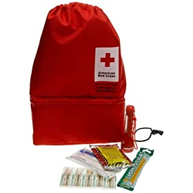 First Aid Only American Red Cross Emergency Preparedness Smartpack, 5-Piece Kit