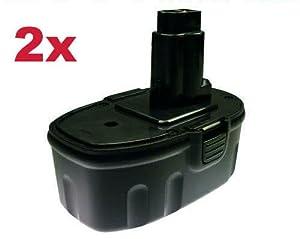 2x Hochleistungs Werkzeug NiMH Akku 18V 3000mAh für  Kundenbewertung und Beschreibung
