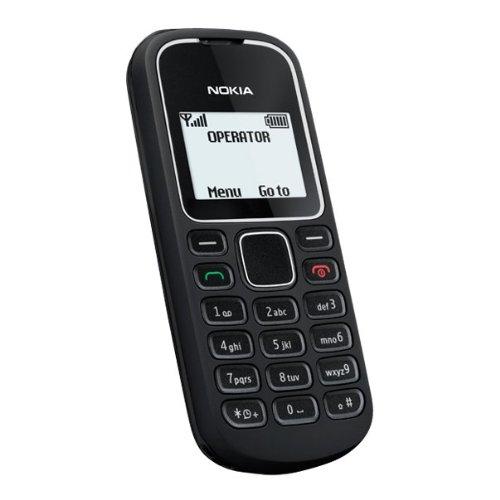 SIMフリー デュアルバンド GSM携帯 Nokia ノキア 1280 ブラック