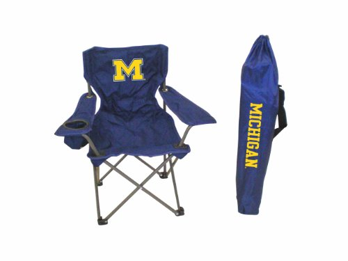 Ncaa Michigan Wolverines Youth Folding Chair With Carrying Case front-180136