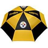 PITSBURGH STEELERS NFL 62 DOUBLE CANOPY UMBRELLA