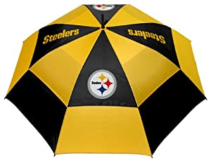 NFL Pittsburgh Steelers 62-Inch Double Canopy Umbrella
