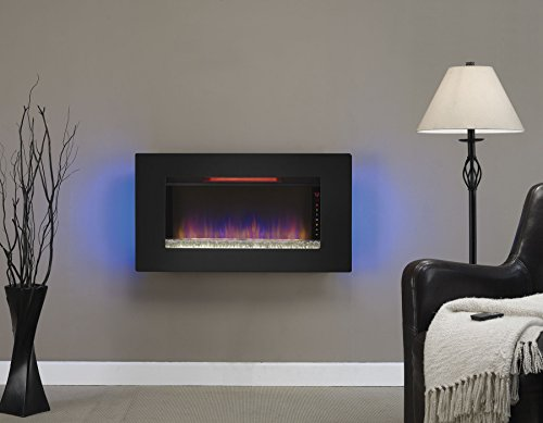 Sale!! Classic Flame 36II100GRG Wall Hanging Fireplace