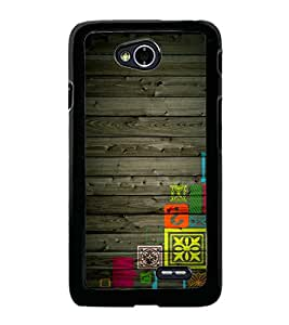 printtech Funky Wooden Patterns Back Case Cover for LG L70