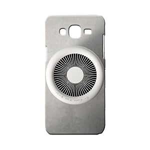 BLUEDIO Designer 3D Printed Back case cover for Samsung Galaxy E7 - G6228
