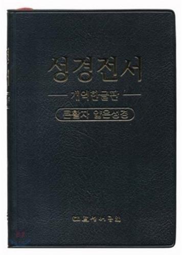 Thin large print Bible Bible WEB Korean version H72TH (danbon, colorless, plastic) (14 * 1935) (Black) (Korean edition) PDF