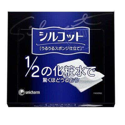 【1/2の化粧水で驚くほどうるおう】シルコットうるうるスポンジ仕立て40枚箱