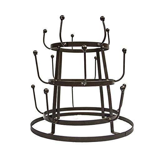 Awardpedia sorbus mug holder tree organizer drying rack for Coffee mug display rack