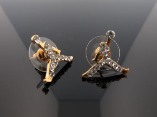 nike air jordan earrings