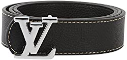 Lotus Designer Men's Belt (Black)