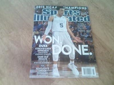 Sports Illustrated April 13, 20152015 NCAA Champions Tyus Jones