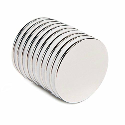 TAQTON Neodymium Disc Magnets, N52, 1.26