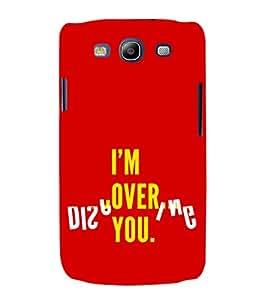 EPICCASE over you Mobile Back Case Cover For Samsung Galaxy S3 (Designer Case)