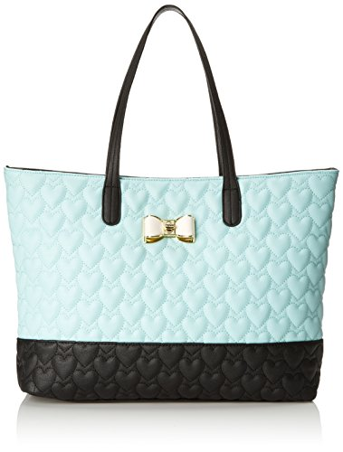 Betsey Johnson Be My Bow BJ43920 Shoulder Bag, Minty Blue, One Size