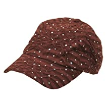 Glitter Caps-Brown