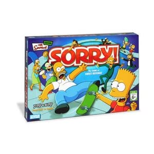 Click to buy Sorry board game: The Simpsons from Amazon!