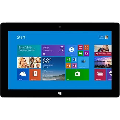 "Microsoft Surface 2 64Gb Tablet - Windows Rt 8.1, 10.6"" 1920X1080 Lcd Touchscreen, 64Gb Storage, 2Gb Memory, Front And Rear Camera (P4W-00001)"