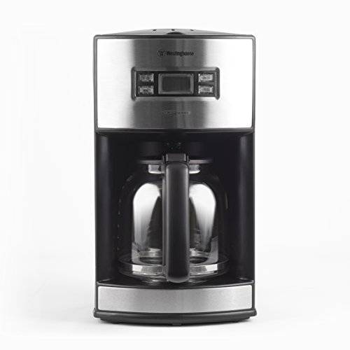 Westinghouse-WCM12BSSA-Select-Series-12-Cup-Programmable-Coffee-Maker-Black