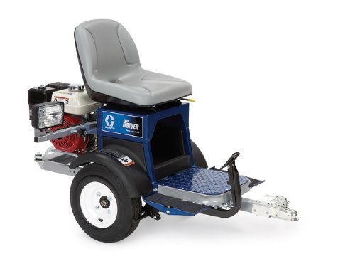 """Linedriver Ride-On Attachment, 5.5 Hp Honda Engine 26""""W X 41"""" H X 58"""", Operates Up To 10 Mph Forward front-135878"""
