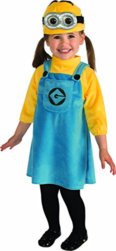 Despicable Me 2 Female Minion Costume, with Bracelet for Mom