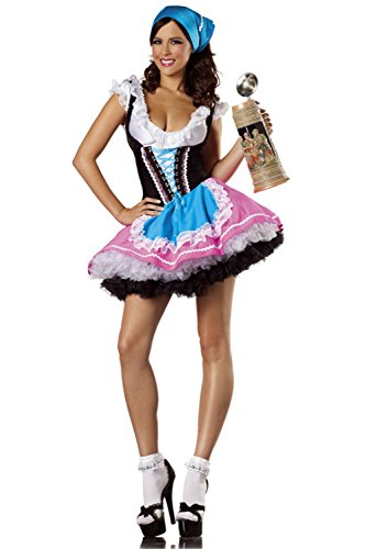 Bewicked Halloween Cosplay Costumes - Women Cute Beer Girl