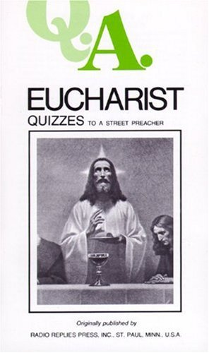 Eucharist Quizzes