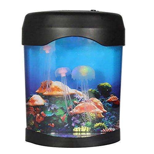Vktech® LED Jellyfish Tank Sea World Swimming Mood Lamp Nightlight Light Multicolor