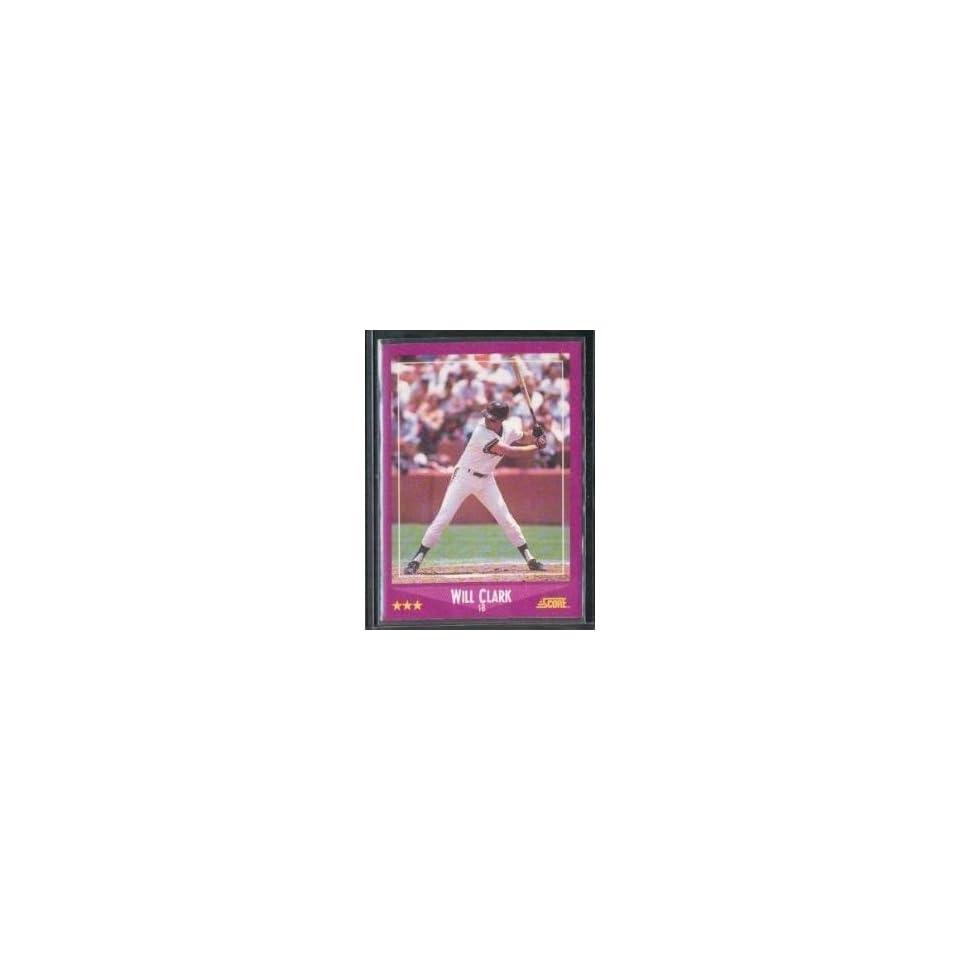 2008 Score San Francisco Giants Baseball Team Set . . . Featuring Will Clark