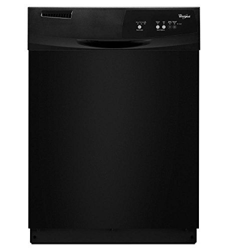 Whirlpool Black Full Console 24 Inch Dishwasher WDF111PABB. This model's Tall Tub design allows you to load tall and odd-shaped