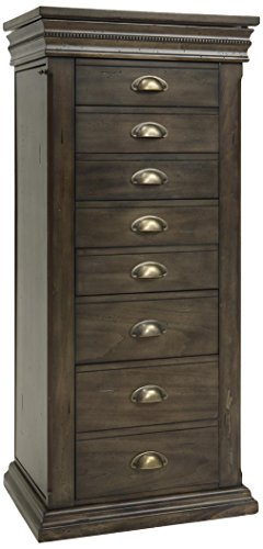 Dark Wood Jewelry Armoire front-1034268