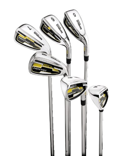 Wilson ProStaff LCG Steel Iron - Set Mens - Right Hand Uniflex