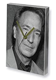 ALAN RICKMAN - Canvas Clock (LARGE A3 - Signed by the Artist) #js005