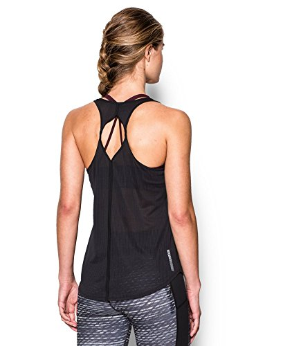 Under Armour Women's Fly-By 2.0 Solid Tank, Black (001), Large