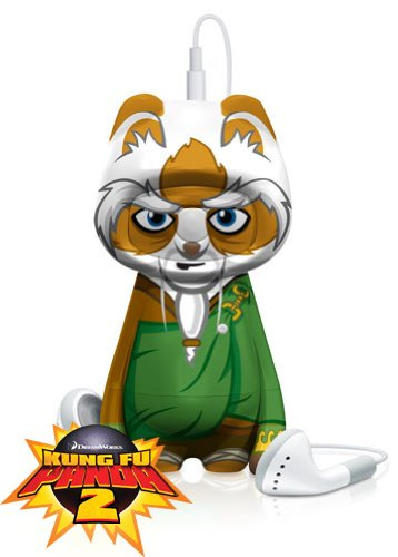 Kung Fu Panda 2 Master Shifu : Mp3 player and Flash Drive