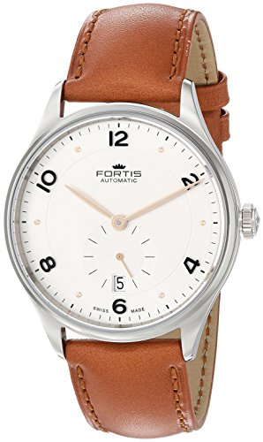 Fortis-Mens-9012012-L38-Hedonist-Analog-Display-Automatic-Self-Wind-Brown-Watch