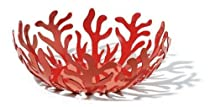 Hot Sale Alessi Mediterraneo 11-1/2-Inch Fruit Holder, Red