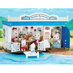 Calico Critters Seaside Restaurant Playset