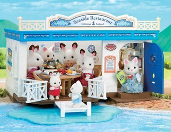 Calico Critters Seaside Restaurant Toy