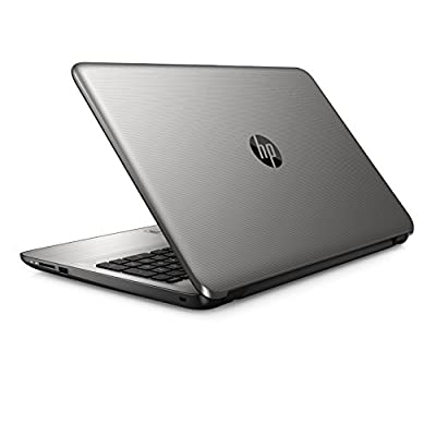HP 15-BA025AU 15.6 inch Laptop (AMD Quad-Core-4GB-500GB-DOS) Natural Silver