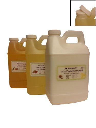 Unrefined Sunflower Oil High Oleic Organic 100% Pure 64 Oz / 2 Quarters