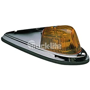 Truck-Lite Die Cast Chrome Cab Marker Light 1312A