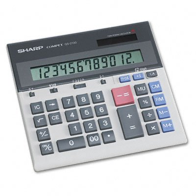 Sharp QS2130 Commercial Desktop Calculator new phoenix 11207 b777 300er pk gii 1 400 skyteam aviation indonesia commercial jetliners plane model hobby